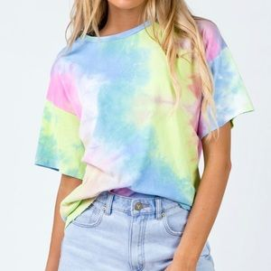PRINCESS POLLY TIE DYE TEE